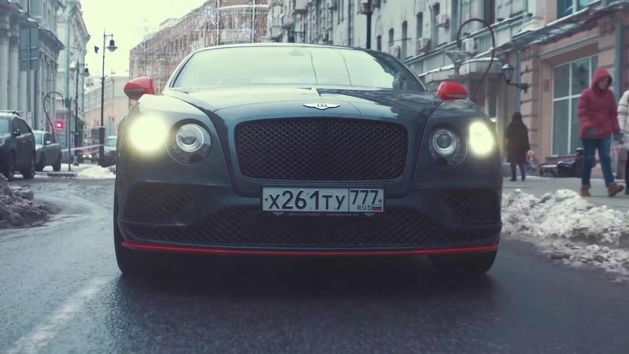 DT Test Drive — 642 л.с. Bentley Continental GT Speed (₽15 млн.)