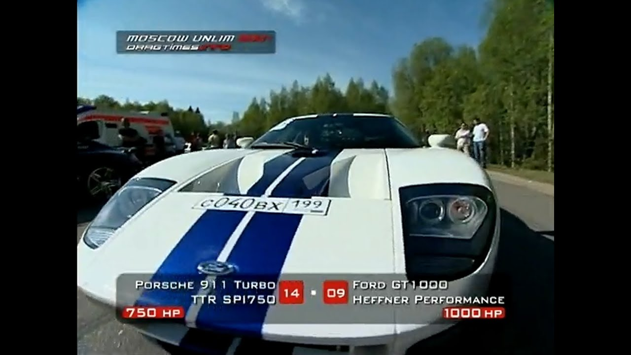 Porsche 911 Switzer R750 vs Ford GT40 Hennessy (Roll on)