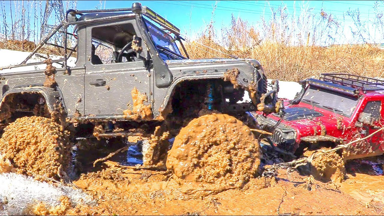 RC Cars MudRunner OFF Road Extreme 4x4 – Jeep, Mercedes, Land Rover, Traxxas TRX4 - Wilimovich