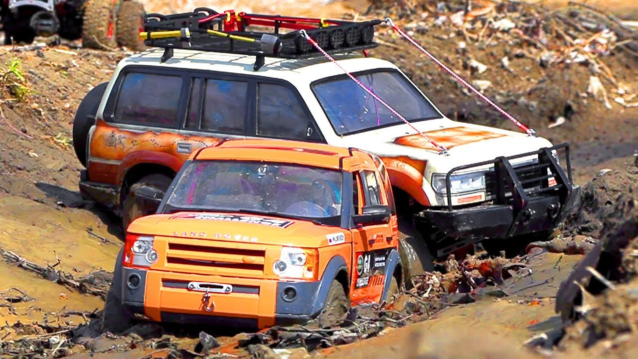 RC Cars MUD OFF Road ROOF DEEP Discovery 4x4, Land Cruiser, Ford F350 High Lift   Wilimovich