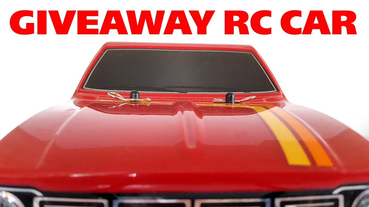 GIVEAWAY RC CAR – Wilimovich