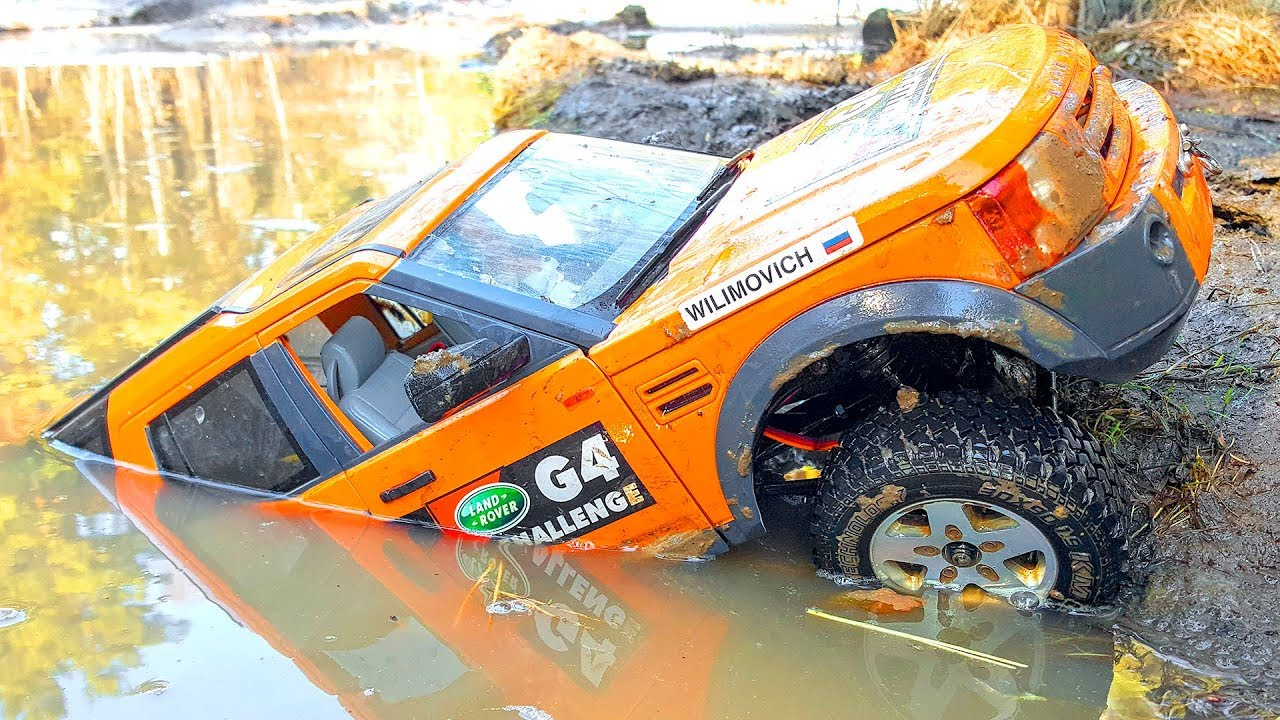 RC Trucks MUD Racing Go ROOF DEEP Discovery 4x4, Land Cruiser, Ford F350 High Lift - Wilimovich