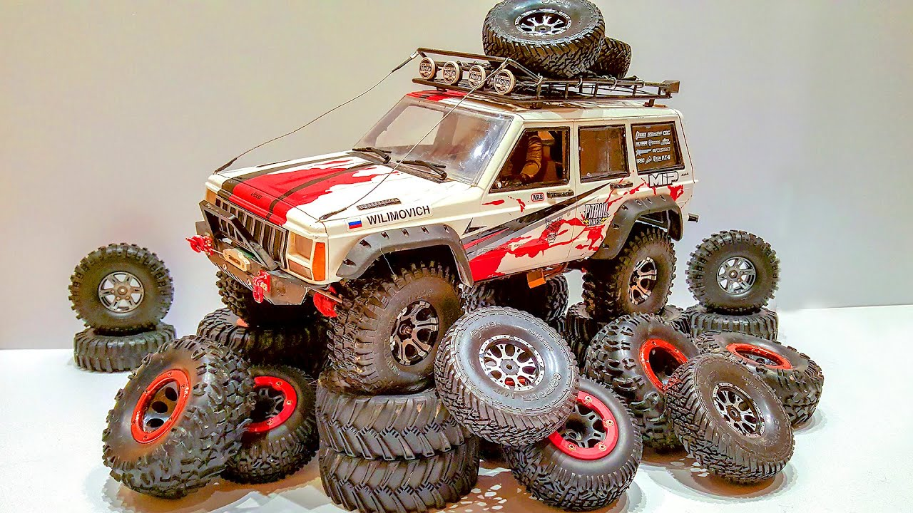 TOP RC Cars Tires – Choosing the Best Tires for Snow, Sand, Rock and MUD — HUGE TEST — Wilimovich