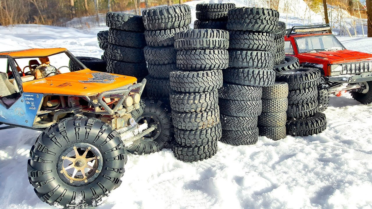 TOP 5 OFF Road Tires for RC Cars — HUGE TEST 31 Wheel Set — Wilimovich